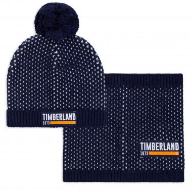 Hat and snood set TIMBERLAND for BOY