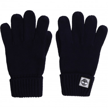 Cotton knitted gloves TIMBERLAND for BOY