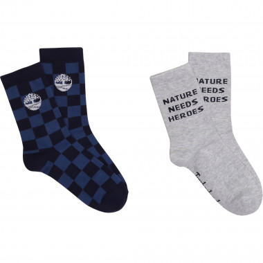 Two-pack set of socks TIMBERLAND for BOY