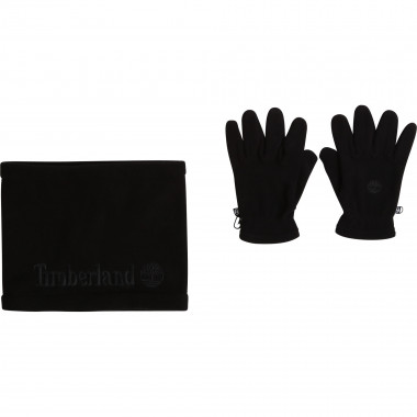 Snood and glove set TIMBERLAND for BOY