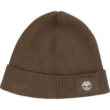 Hat 100% cotton knit TIMBERLAND for BOY