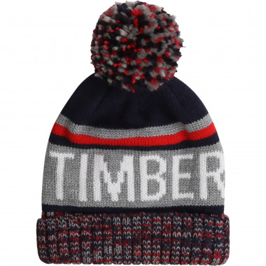 Colour block hat with pompom TIMBERLAND for BOY
