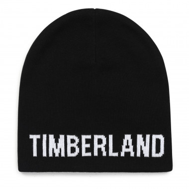 Reversible knit cotton hat TIMBERLAND for BOY