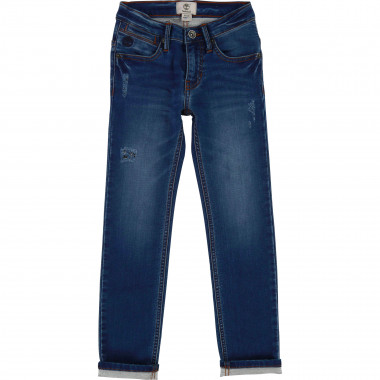 Worn-effect denim trousers TIMBERLAND for BOY