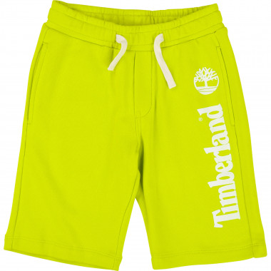 Regular fleece Bermuda shorts TIMBERLAND for BOY