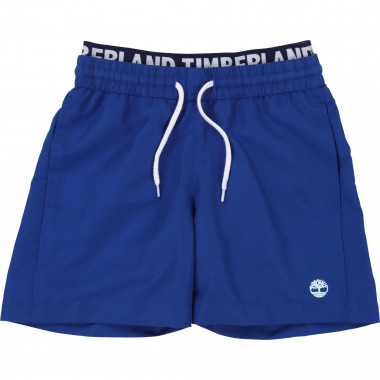 Logo waist board shorts TIMBERLAND for BOY