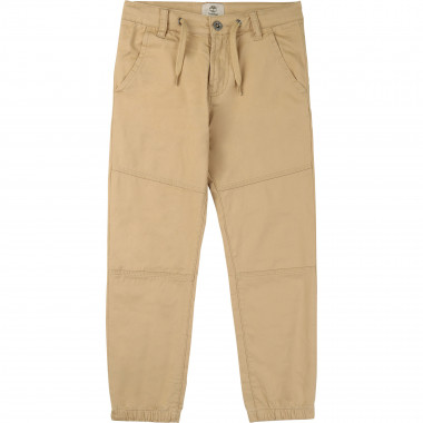 Straight-cut cotton trousers TIMBERLAND for BOY