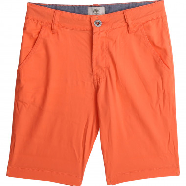 Cotton twill chino Bermudas TIMBERLAND for BOY