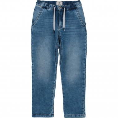 Cotton and lyocell jeans TIMBERLAND for BOY