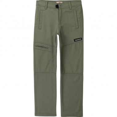 Cotton blend chino trousers TIMBERLAND for BOY