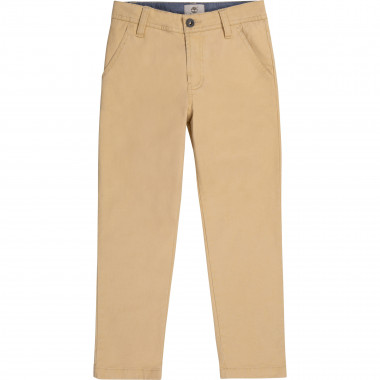 Stretch cotton trousers TIMBERLAND for BOY