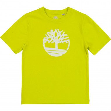 Straight cotton logo T-shirt TIMBERLAND for BOY