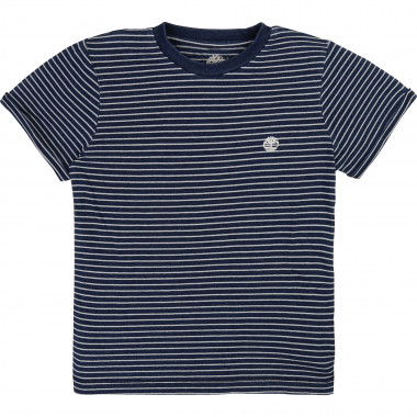 Striped cotton T-shirt TIMBERLAND for BOY
