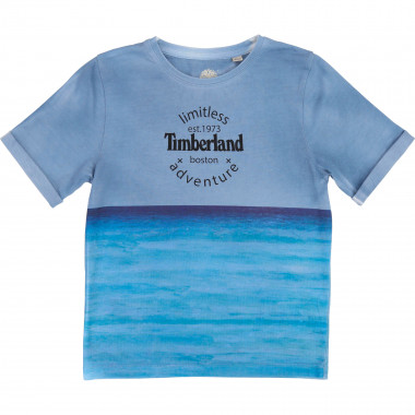 Slim screen printed T-shirt TIMBERLAND for BOY