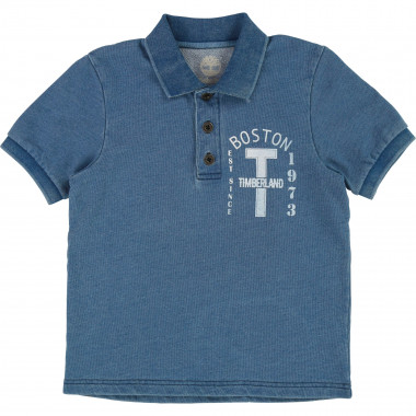 Lightweight fleece polo shirt TIMBERLAND for BOY