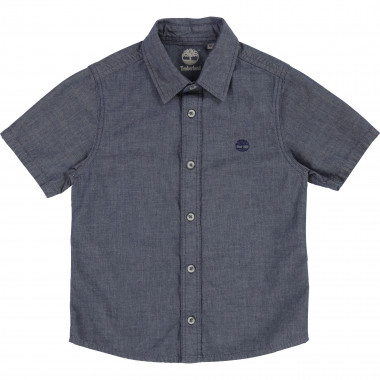 Chambray logo shirt TIMBERLAND for BOY