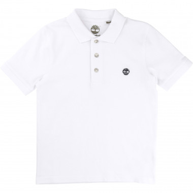 Organic cotton polo shirt TIMBERLAND for BOY