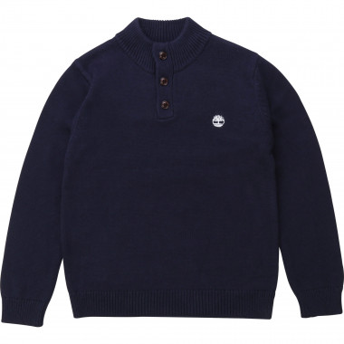 Wool and cotton knit jumper TIMBERLAND for BOY