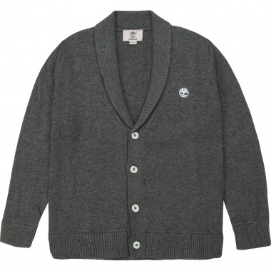 Cotton knit cardigan TIMBERLAND for BOY