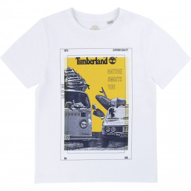 T-shirt 100% organic cotton TIMBERLAND for BOY