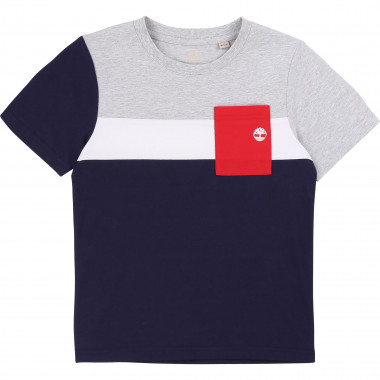 T-shirt with patch pocket TIMBERLAND for BOY