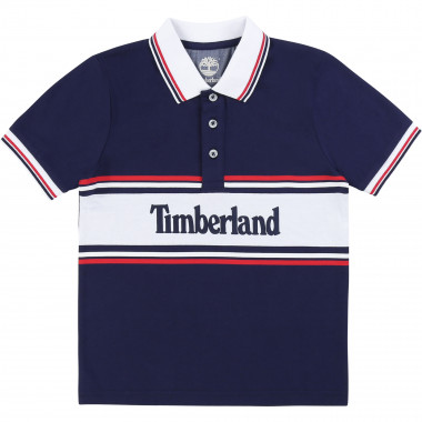 Polo shirt 100% organic cotton TIMBERLAND for BOY