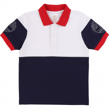 Colour block polo TIMBERLAND for BOY