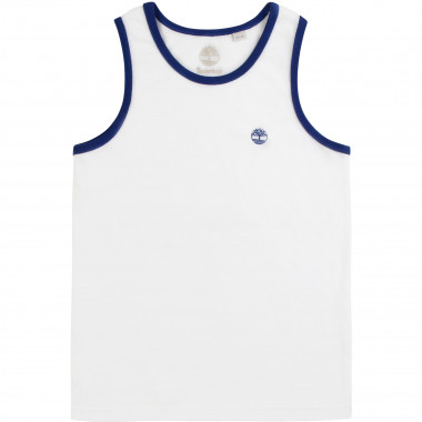 Organic cotton vest top TIMBERLAND for BOY