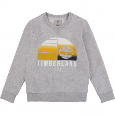 Suede fleece sweatshirt TIMBERLAND for BOY