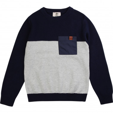 Multicoloured cotton jumper TIMBERLAND for BOY