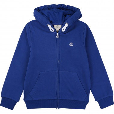 Hooded fleece cardigan TIMBERLAND for BOY