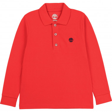 LONG SLEEVE POLO TIMBERLAND for BOY