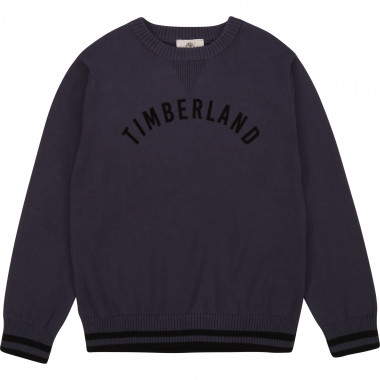 Round-neck cotton jumper TIMBERLAND for BOY