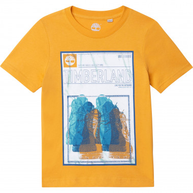 Jersey T-shirt 100% cotton TIMBERLAND for BOY