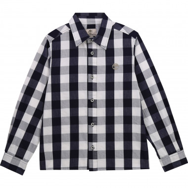 Long-sleeved cotton shirt TIMBERLAND for BOY