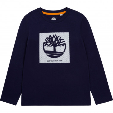 Printed cotton jersey T-shirt TIMBERLAND for BOY