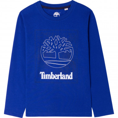 Long-sleeved cotton T-shirt TIMBERLAND for BOY