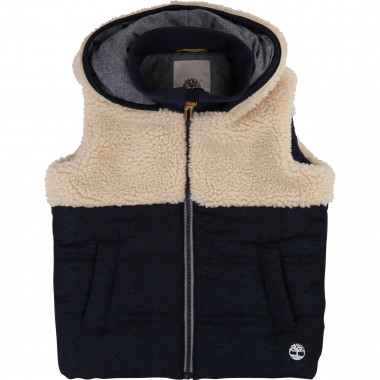 Hooded body warmer TIMBERLAND for BOY