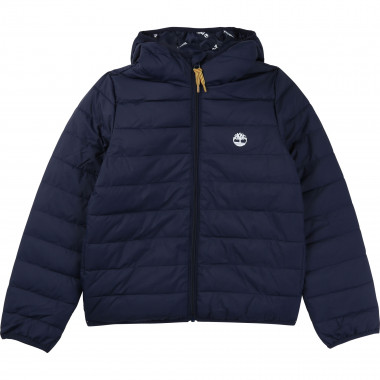 Zipped hooded parka TIMBERLAND for BOY