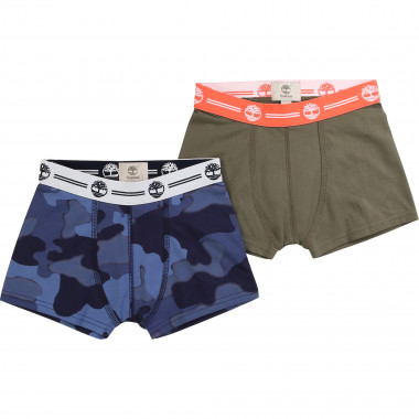 Pack of 2 cotton jersey boxers TIMBERLAND for BOY