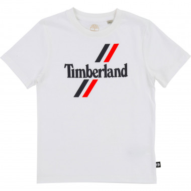 Short-sleeved cotton T-shirt TIMBERLAND for BOY