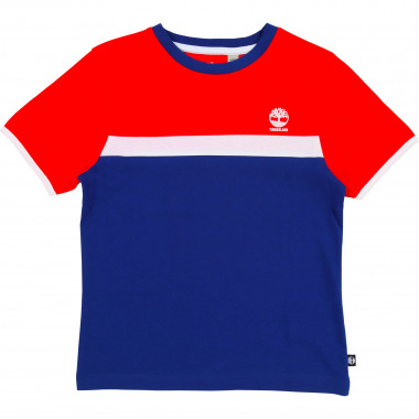 Slim-fit cotton jersey T-shirt TIMBERLAND for BOY