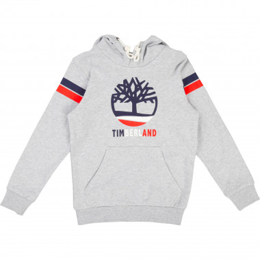 Hooded sweatshirt with print TIMBERLAND for BOY