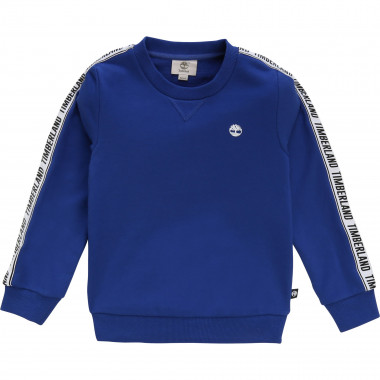 Sweatshirt with logo trim TIMBERLAND for BOY