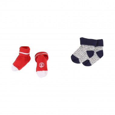 Lot of 2 pairs of socks TIMBERLAND for BOY