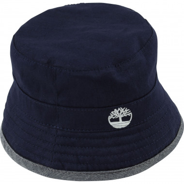 Reversible cotton bucket hat TIMBERLAND for BOY