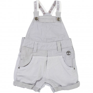 Cotton biface dungarees TIMBERLAND for BOY