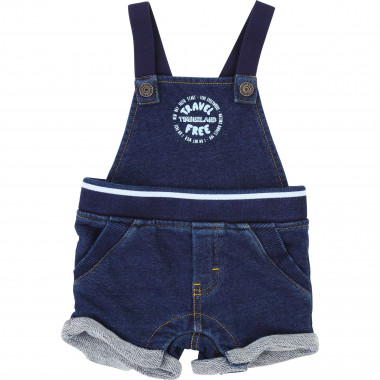 Cotton dungaree shorts TIMBERLAND for BOY