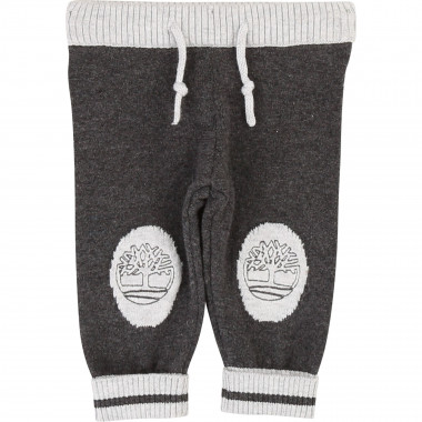 Cotton knit trousers TIMBERLAND for BOY