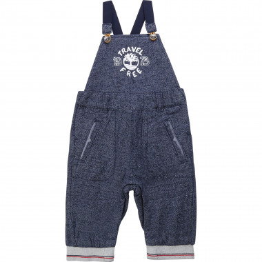 Fancy lined dungarees TIMBERLAND for BOY